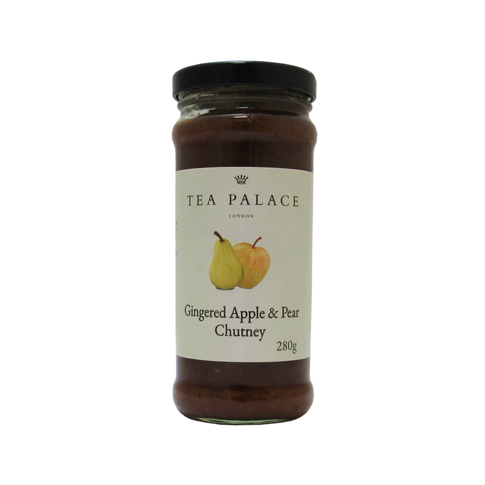 Gingered Apple & Pear Chutney