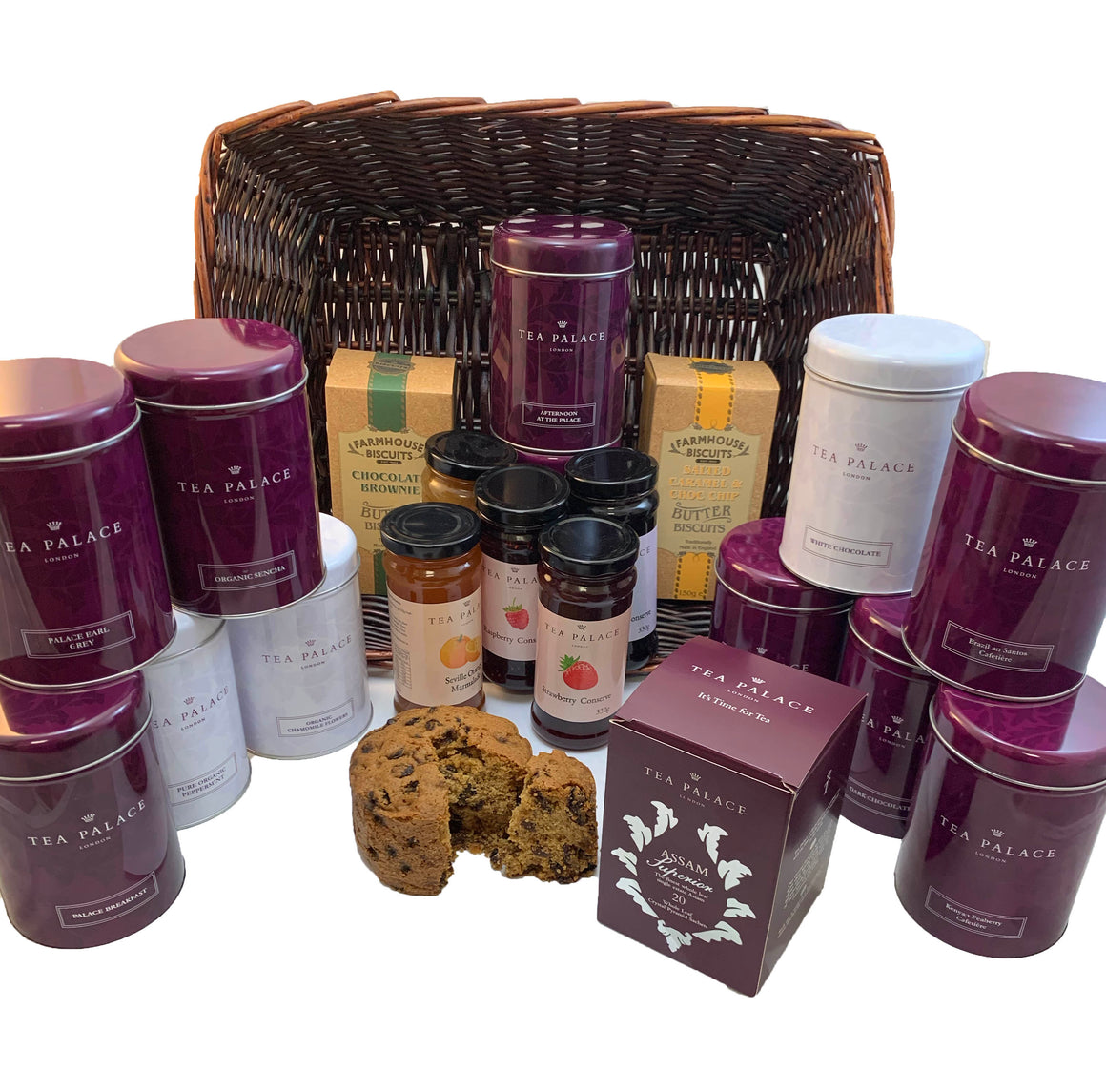 The Buckingham Hamper Basket