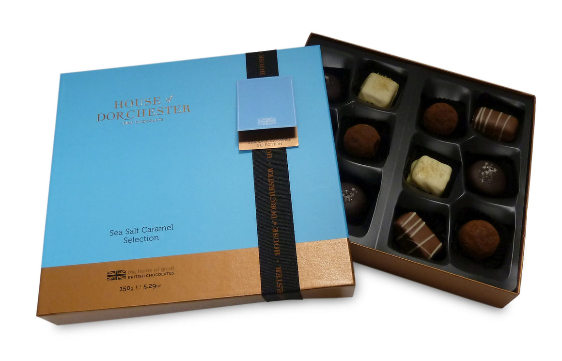 Sea Salt Caramel selection