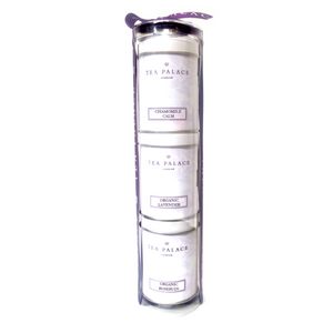 "Tea Palace ""Calm"" Triple Gift Tube"