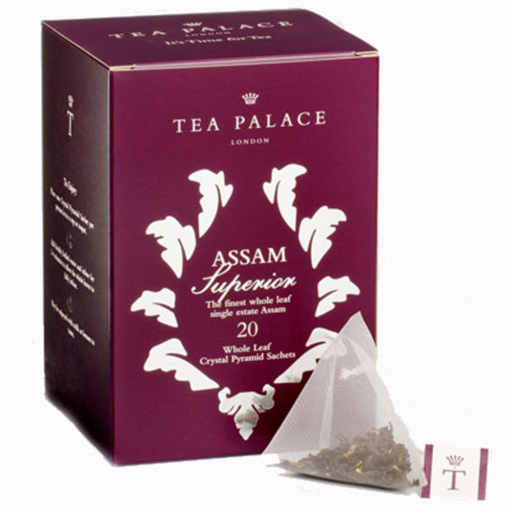 Assam Superior Crystal Pyramid Tea Bags