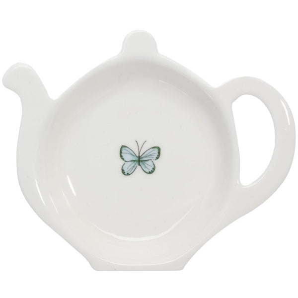 Blue Butterfly Tea Tidy