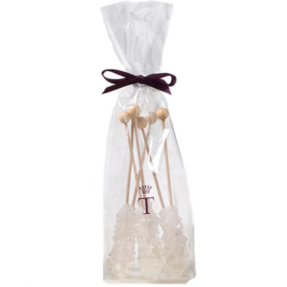 Crystal Sugar Sticks - White