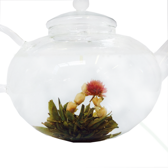 Flowering Tea: Dragon Four Flowers