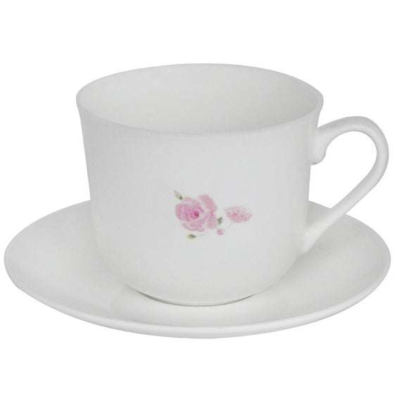 English Rose Large Cup and Saucer