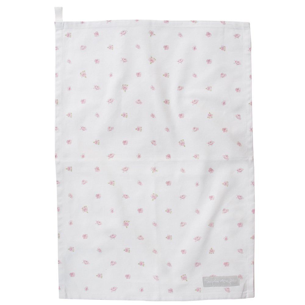 English Rose Tea Towel