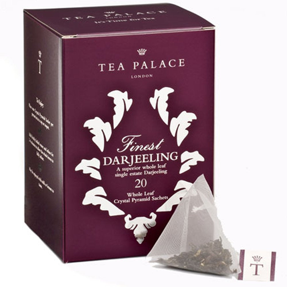 Finest Darjeeling Crystal Tea Bags