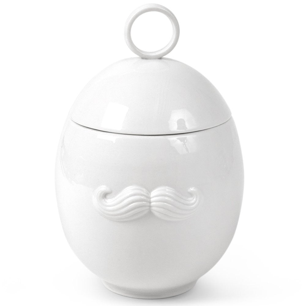 Moustache & Lips Sugar Bowl