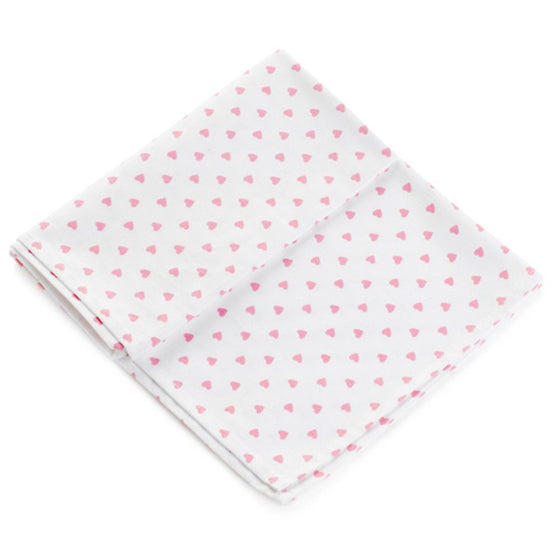 Nina Campbell Pink Heart Tea Towel