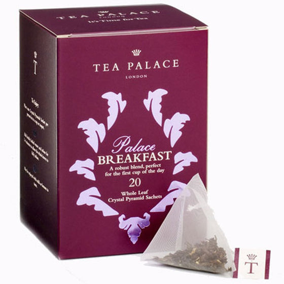 Palace Breakfast Crystal Tea Bags