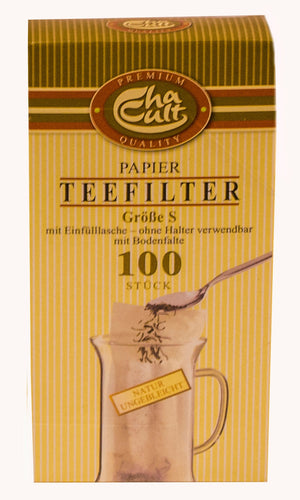Small Paper Tea Filters - Box of 100