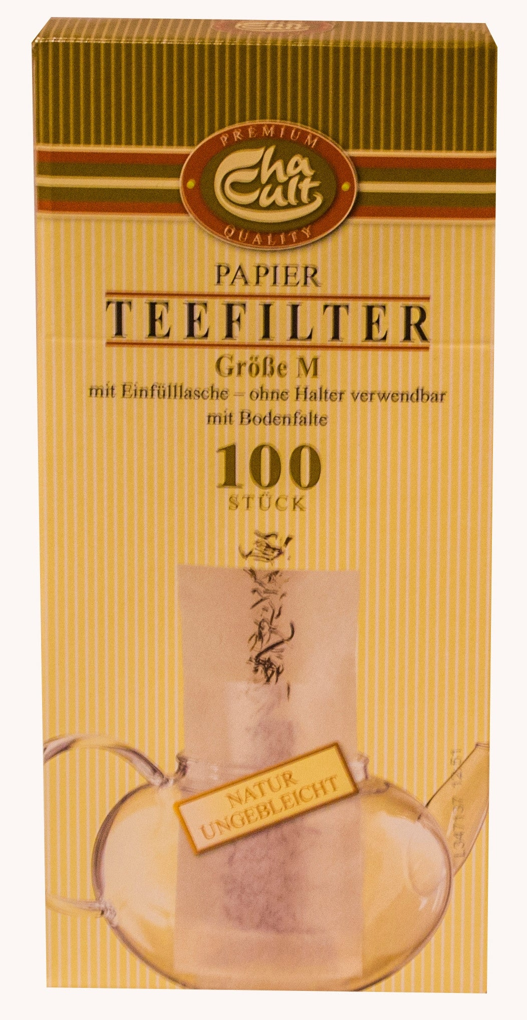 M Paper Tea Filters - Box of 100