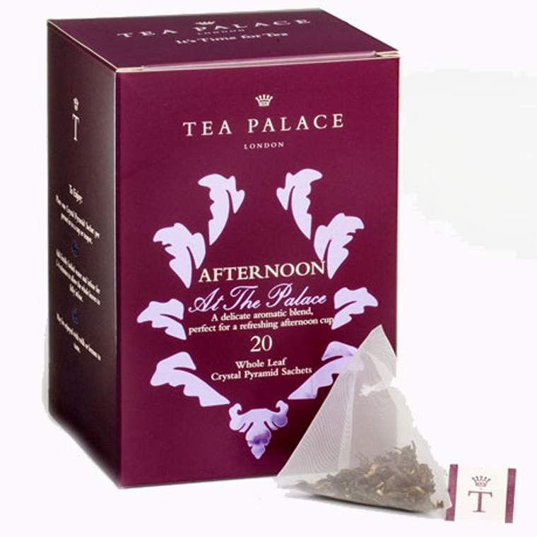 Afternoon at the Palace Crystal Tea Bags