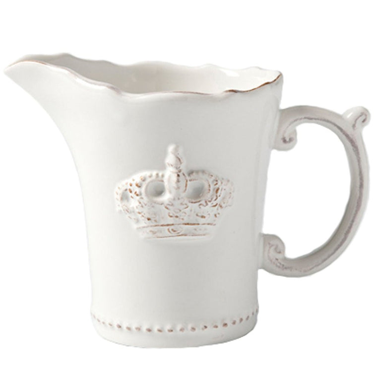 Vintage Crown Milk Jug