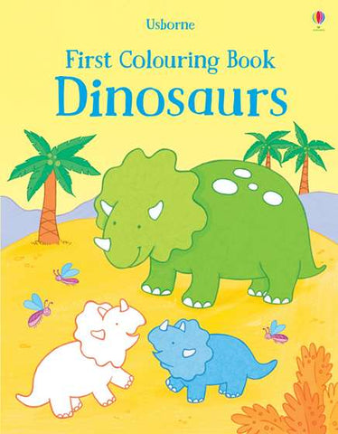 USBORNE First Colouring Book/Dinosaurs