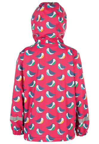 FRUGI Puddle Buster Coat, Rainy Robins