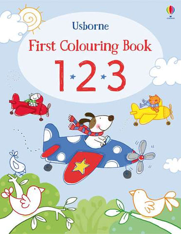 USBORNE First Colourings Book 1.2.3