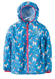 FRUGI Puddle Buster Packaway Jacket, Rainbow Magic