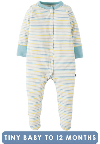 FRUGI Striped babygrow