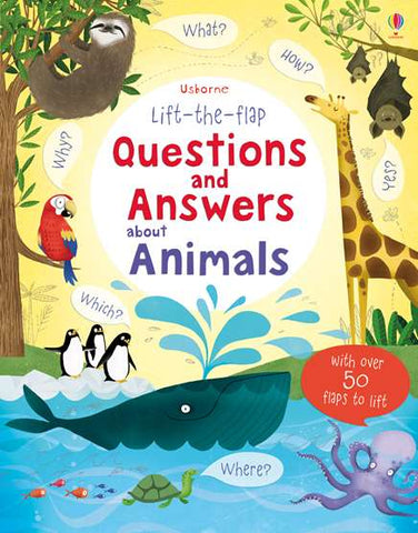 USBORNE Questionsnand Answers About Animals