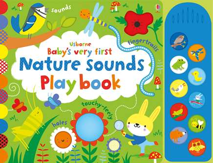 USBORNE Babys very first nature sounds Play Book
