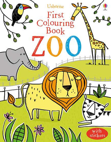 USBORNE First colouring Book / Zoo