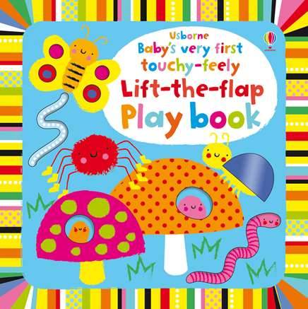 USBORNE Babys very first touchy feely lift the flap play book