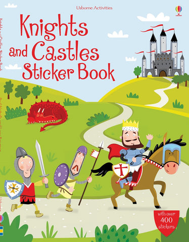 USBORNE Knights and Castles Sticker Book