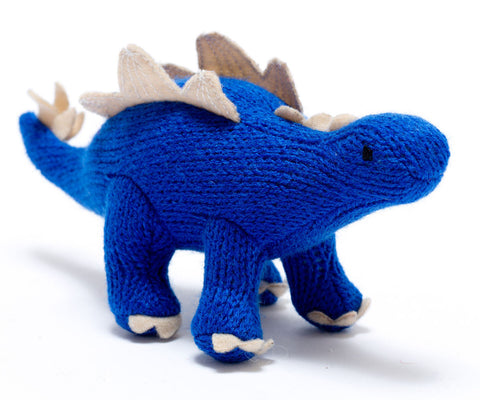 BEST YEARS Mini Stegosaurus Blue