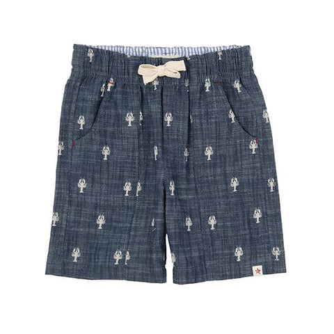 HATLEY Retro Nautical Lobster Pat Pocket Shorts
