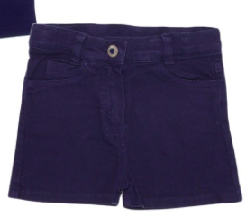 TUTTO PICCOLO Navy Shorts/No Lable