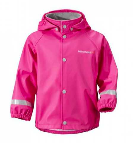 DIDRIKSONS Slaskeman Kids Jacket/Flamingo