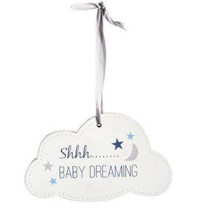 TRANSOMNIA Baby Dreaming Cloud Sign