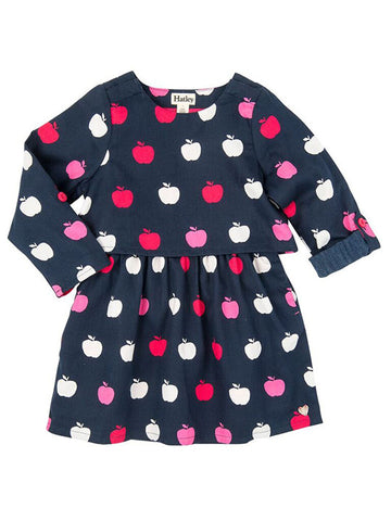 HATLEY Nordic Apples 2 Layer Dress
