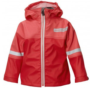 DIDRIKSONS Waterman Kid's Jacket/Red Flag