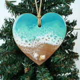 Heart Ornament -  Shell Beach 5