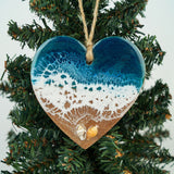 Heart Ornament -  Shell Beach 6