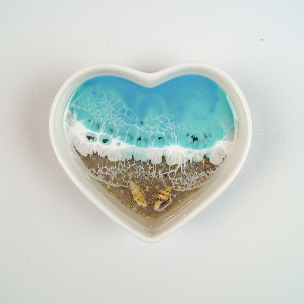 Heart Dish - Coastal Cool