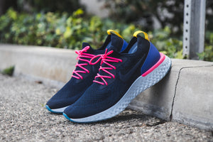 NEW NIKE EPIC REACT FLYKNIT – Lace Swapped