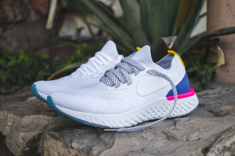 Last week Nike launched the new Nike Epic React Flyknit. It features Nike s  special React cushioning which makes this a super lightweight bc58fd4a8