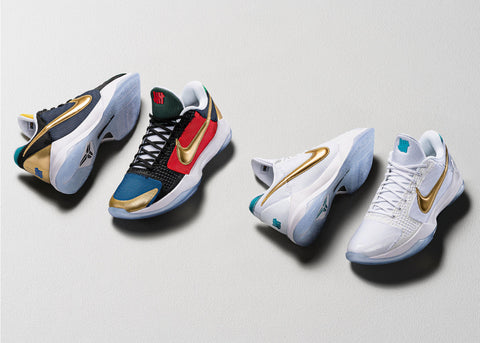 "Nike Kobe 5 Protro x Undefeated ""What If"" Pack"