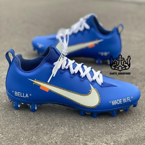 Off-White-Style Cleats