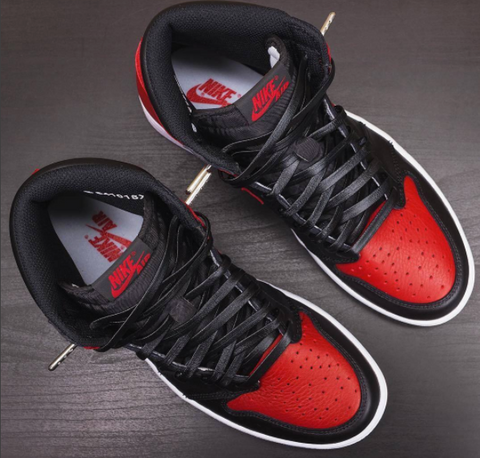 27fc8b74cced7 Quite a few customizers put their own spin on Jordan 1 s with our Luxury Leather  Laces. It almost seemed like these laces and this classic silhouette were  ...