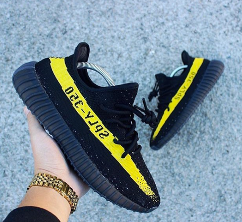 We Love Our Rope Laces on Custom Yeezys