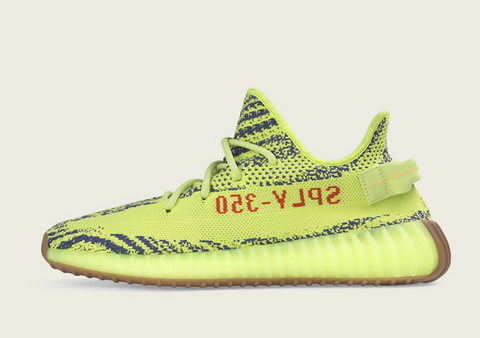 Semi Frozen Yellow Yeezys