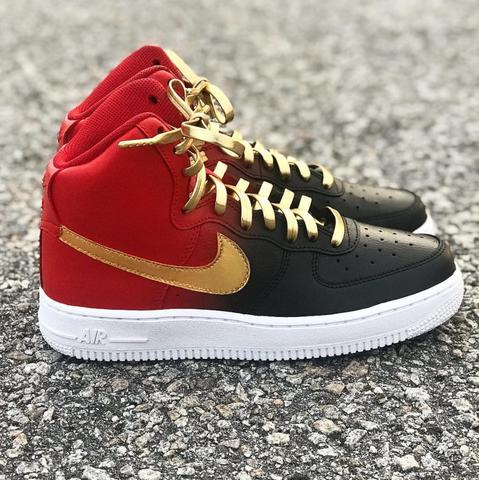 Black, Red, and Gold Forces