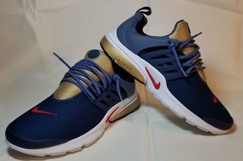 Custom Blue and Gold Prestos