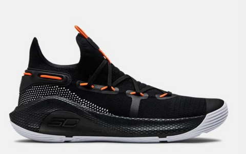 UA Curry 6 Black/Orange