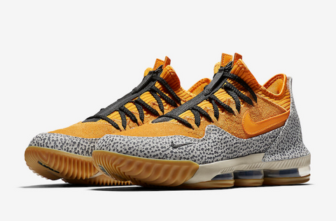LeBron 16 Low Safari
