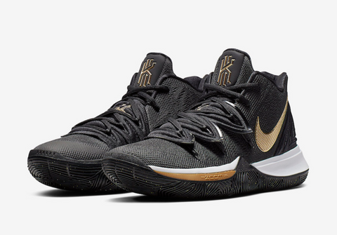Nike Kyrie 5 Black/Metallic Gold